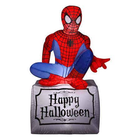 Gemmy Airblown Halloween Spider-Man Inflatable