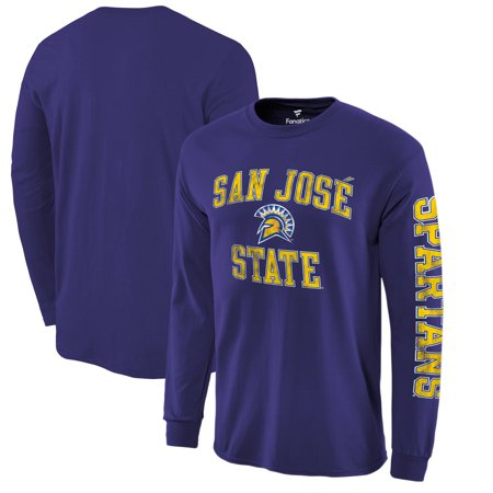 Inferno Halloween San Jose (San Jose State Spartans Fanatics Branded Distressed Arch Over Logo Long Sleeve T-Shirt -)