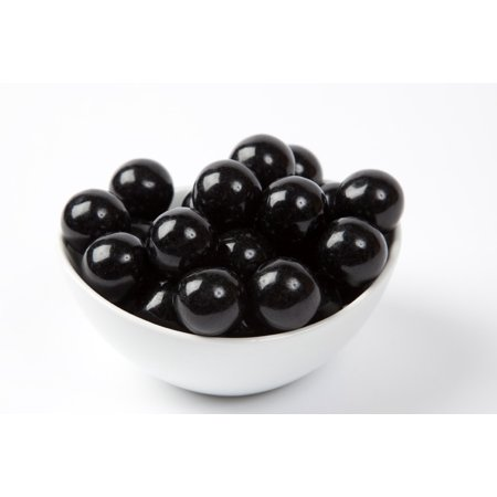 Black Gourmet Gumballs (4 Pound Bag)