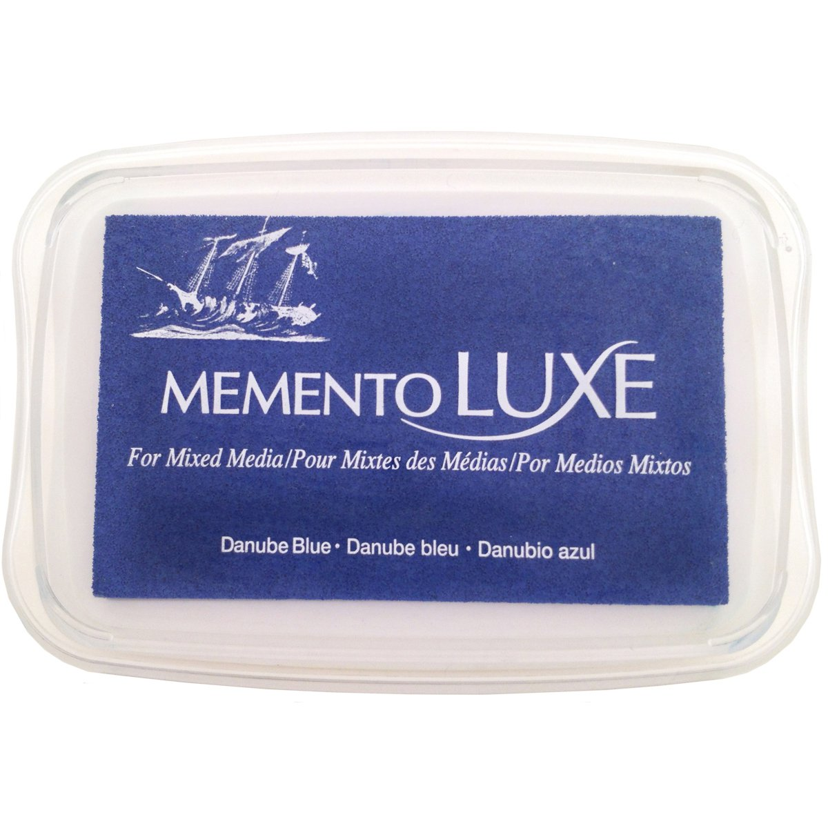 Memento Luxe Ink Pad-Danube Blue - image 1 de 1