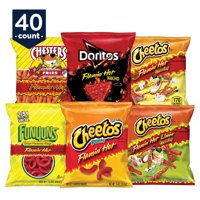Frito-Lay Flamin' Hot Mix, Variety Pack, 1 oz 40 Count
