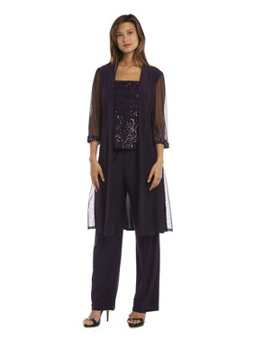 8dbad608709 Product Image R M Richards Mother of the Bride Pant Suit w  Chiffon Jacket