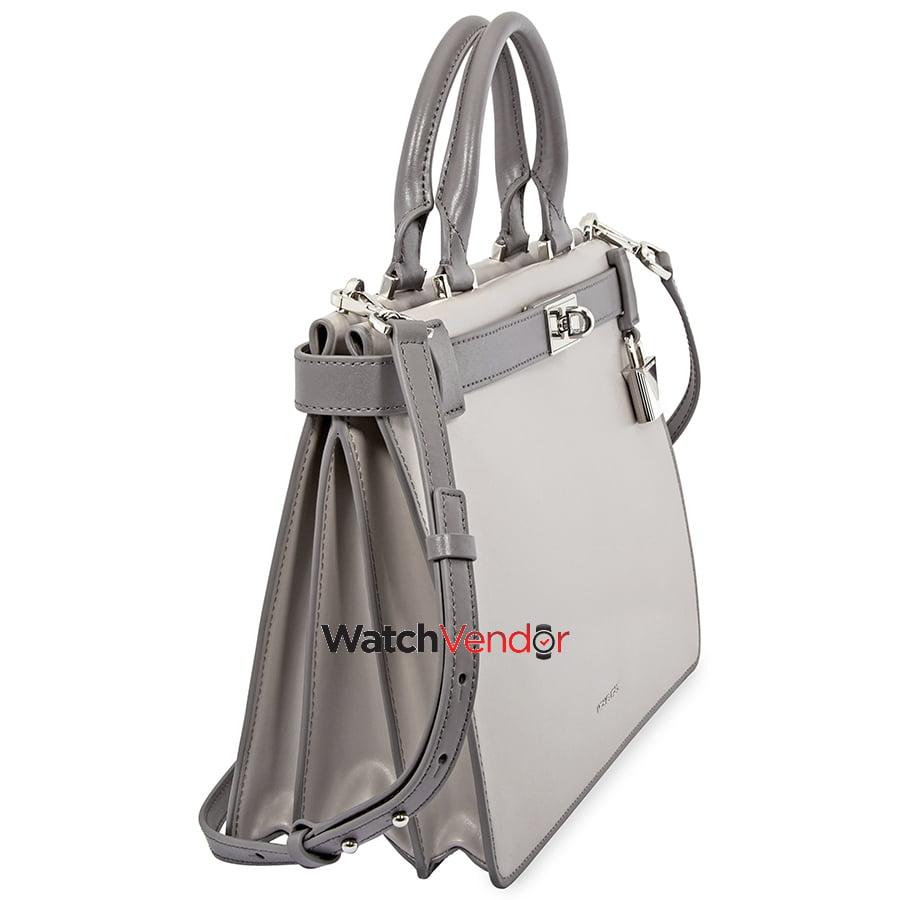 0365b5729ea7 Michael Kors Tatiana Medium Leather Satchel- Grey | Walmart Canada ?