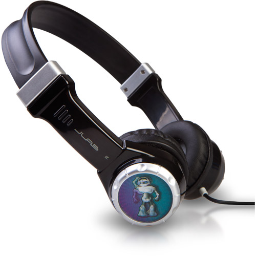 Jbuddies Kids Volume Safe Headphone-blac