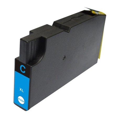 Insten Non-OEM Ink Cartridge Replacement for Lexmark 200XL 14L0175 - Cyan - image 1 de 1