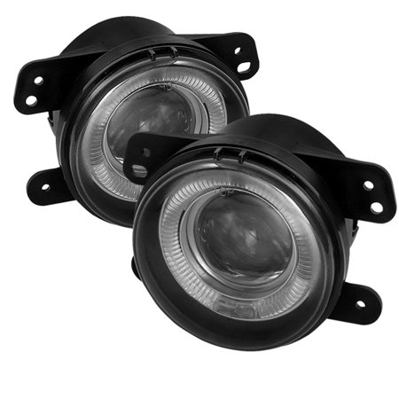 Fits Smoked 05-10 Chrysler 300 Pt Cruiser 05+ Magnum Halo Projector Fog Lights 3 Series Projector Fog Lights