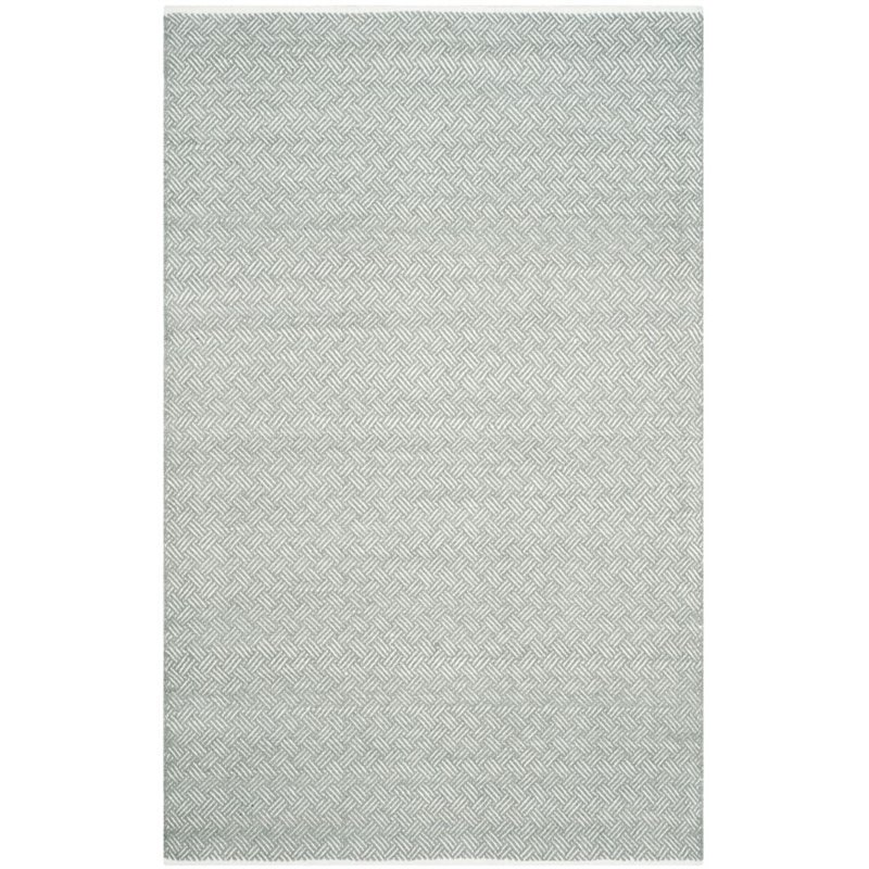 Safavieh Boston 6' X 9' Hand Woven Cotton Pile Rug in Gray - image 5 of 9