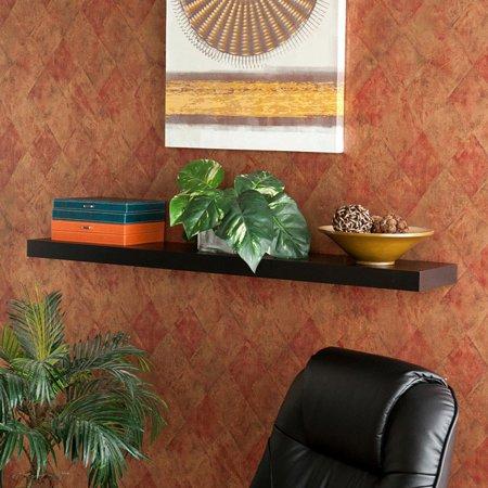 Harper Blvd Clay Alder Home Sorlie 48 Inch Stylish Black Floating Shelf
