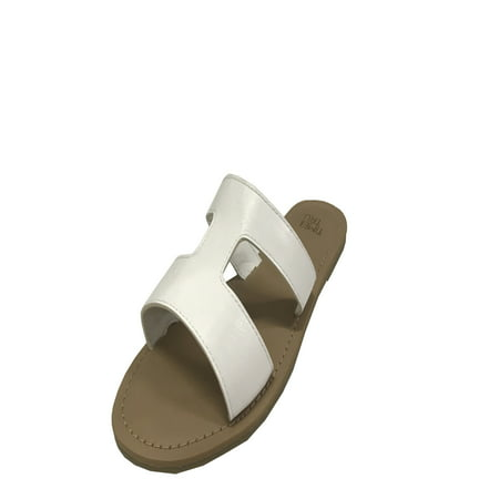 - Womens Time And Tru H Band Sandal