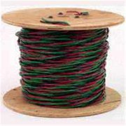 SOUTHWIRE COMPANY Twisted Submersible Pump Cable,12/3 55173602