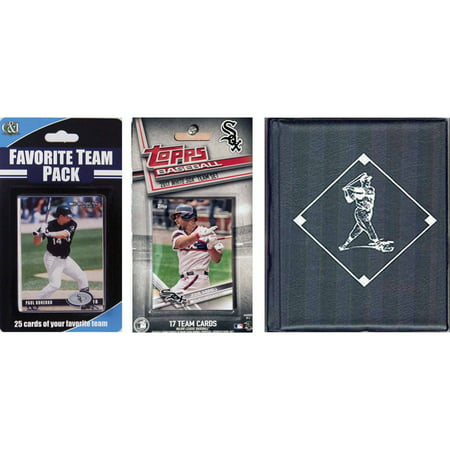 C & I Collectables MLB Chicago White Sox Licensed 2017 Topps Team Set and Favorite Player Trading Cards Plus Storage - Halloween Chicago Events 2017