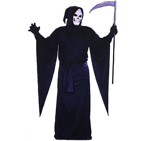 Grim Reaper Adult Robe Halloween Costume](Female Grim Reaper Costume)