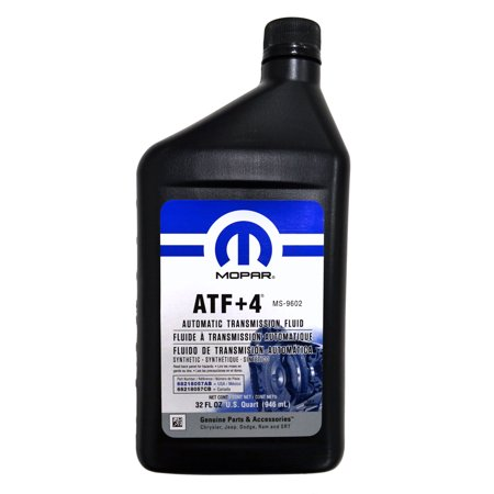 Mopar Automatic Transmission Fluid ATF+4 - 1 Quart Bottle Mopar Automatic Transmissions