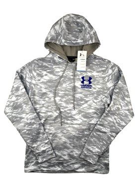 daa174e22626 Product Image Mens Under Armour Hoodie UA Coldgear Grey Camo Pullover  Lightweight S M L XL