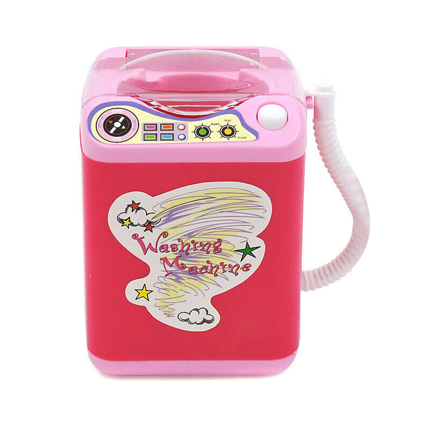 tesyyke Kids Electronic Washing Machine Pre School Play Toy Washer Wash Beauty Sponges