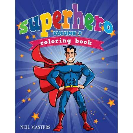 Superhero Coloring Book