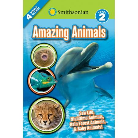 Smithsonian Readers: Amazing Animals Level 2