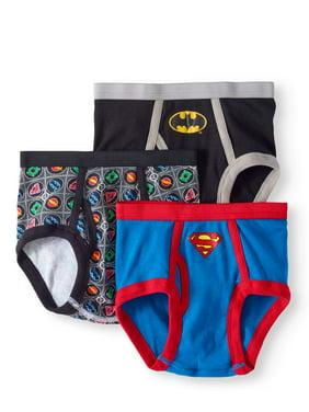 Justice League, Boys Underwear, 5 Pack Boxer Briefs (Little Boys & Big Boys)