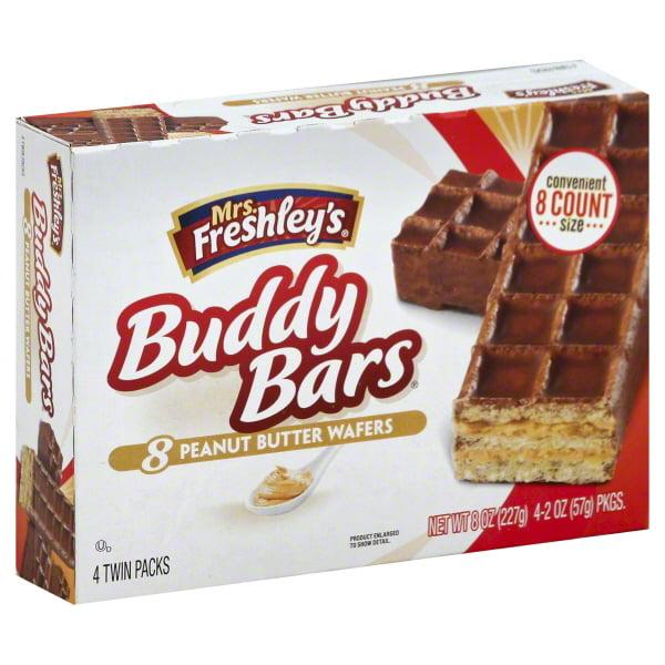 Flowers Foods Mrs Freshleys  Buddy Bars, 4 ea