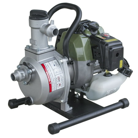 Sportsman Series 1 Inch 2 Cycle Water Transfer Pump With 3 4 Garden