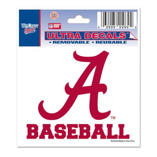 NCAA - Alabama Crimson Tide 3x4 Baseball Decal