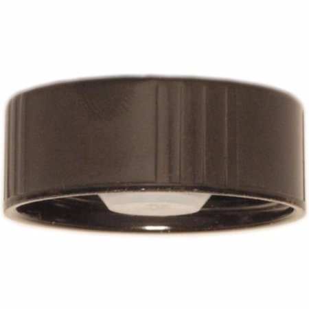 Black Poly Bags - 28mm Poly Seal Screw Caps [Bag of 12] Model: (Home & Kitchen)