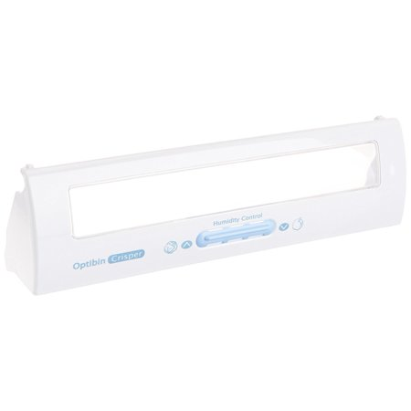 lg electronics 3551jj2019d refrigerator drawer cover assembly with clear plastic window for opting crisper with humidity control, (Clear Controlled Crispers)