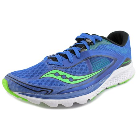 68187d431913 Saucony - Saucony Kinvara 7 Men Round Toe Synthetic Blue Running ...