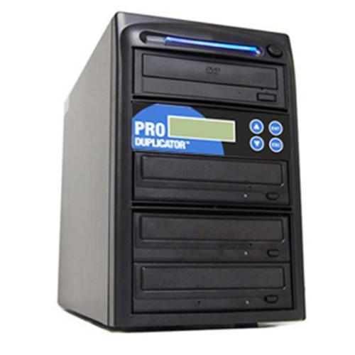 Produplicator 1 to 3 M-Disc (Permanent Data Back up Disc) CD DVD Duplicator (Free Burning Software) Copier Tower Replica