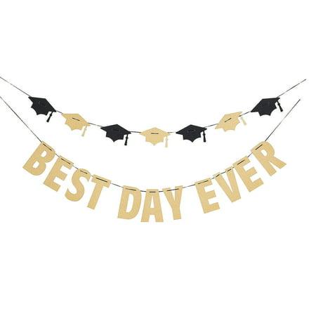 Fun Express - Graduation Tassel Garland for Graduation - Party Decor - Hanging Decor - Garland - Graduation - 1 Piece