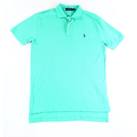 Polo Ralph Lauren NEW Emerald Green Mens Size Small S Polo Rugby Shirt