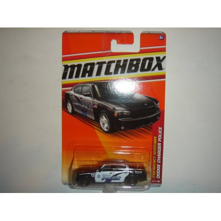 2011 Matchbox Charger Police Black/White #58 of 100, 1:64 By (2011 Dodge Charger Police Interceptor For Sale)