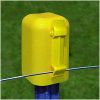 Zareba Yellow 10-Pack T-Post Safety Cap and Insulator