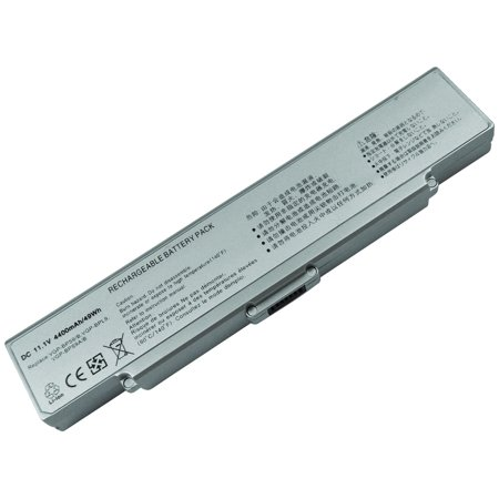 Superb Choice 6-cell Sony Vaio VGN-NR385E VGP-BPS9/S VGP-BPL9 VGN-SZ7 Silver Laptop Battery