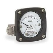 MIDWEST INSTRUMENT 120-AA-00-OO-5P Pressure Gauge,0 to 5 psi