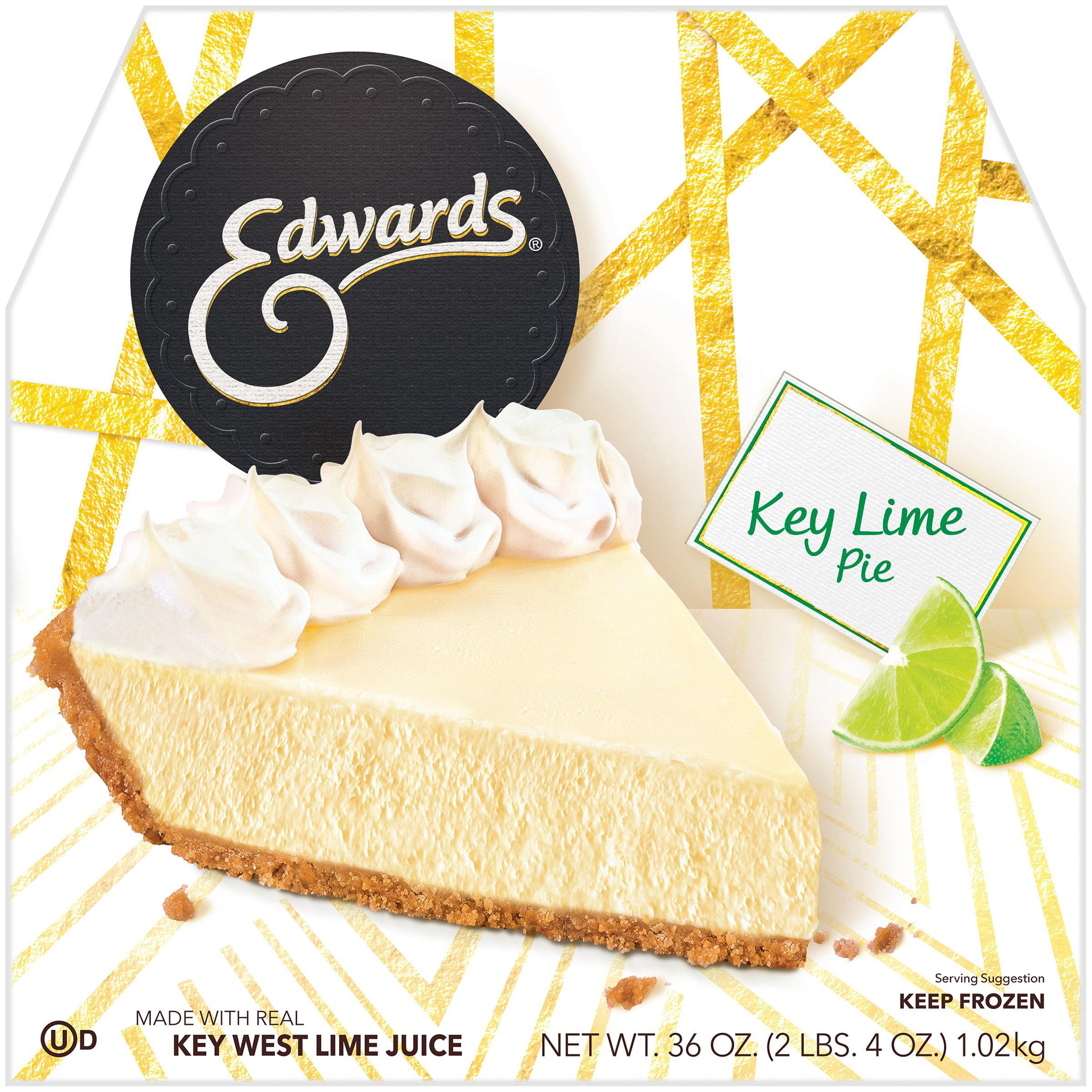 Edwards Key Lime Pie in a Cookie Crust 36 oz. Box - Walmart.com