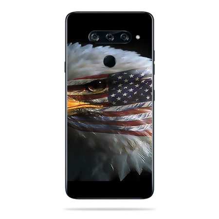 Skin For LG V40 ThinQ - Eagle Eye | MightySkins Protective, Durable, and Unique Vinyl Decal wrap cover | Easy To Apply, Remove, and Change -