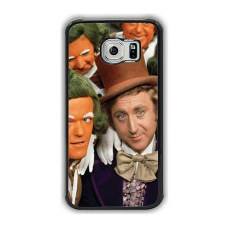 Gene Wilder Wonka And Oompa Loompas Galaxy S6 Case - Oompa Loompa Glasses