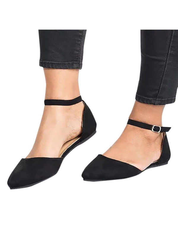 Women's Ballet Flats Ankle Strap Shoe