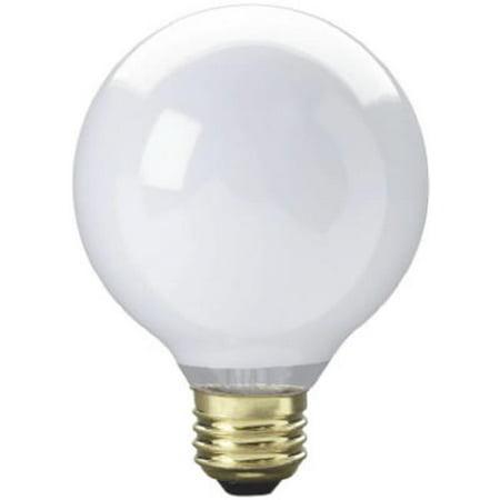 70879 25W G25 Westpointe White Vanity Globe Light Bulb
