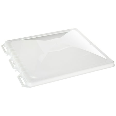 J7291RWH-C Replacement Jensen Vent Cover, Non-Hinged - White, Fits 14 x 14 Non-hinged Jensen roof -