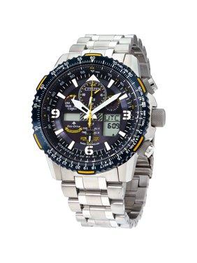 Citizen Men's Blue Angels Eco-Drive Skyhawk A-T Watch 46mm JY8078-52L