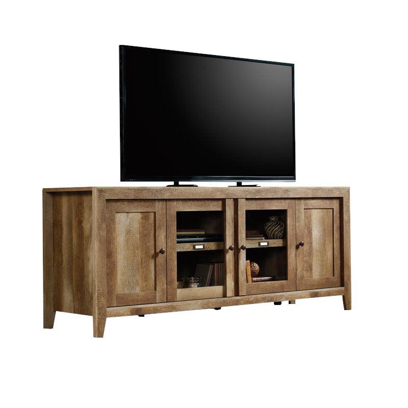 Sauder Dakota Pass Tv Stand In Craftsman Oak Walmart Com Walmart Com
