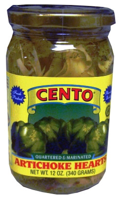 Marinated Artichoke Hearts (Cento) 12 oz by