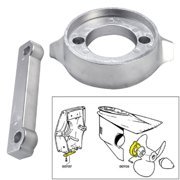 Tecnoseal Anode Kit - Volvo 280 with Hardware - Zinc - Polybag 20701