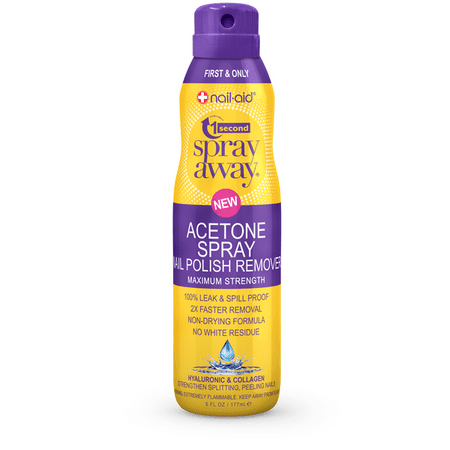 1 SECOND SPRAY AWAY ACETONE HYALURONIC & COLLAGEN