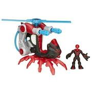 Spider-Man with Arachno-Blade Copter Action Figure Set Marvel