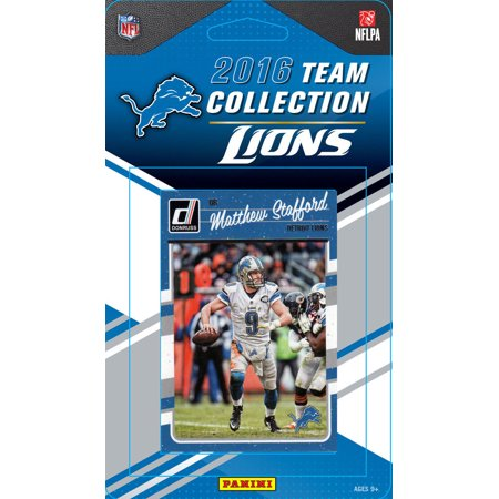 Lions Team Card (Detroit Lions Factory Sealed Team Set )