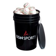 BSN Sports 79P Baseballs in a Bucket - 3 Dozen