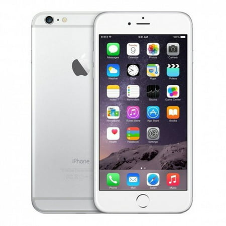 Refurbished Apple iPhone 6 Plus 16GB, Silver - Unlocked GSM (with 1 Year